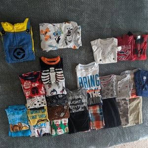 37pc Boys 4T Bundle